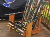 Avonmore handmade hockeystick chair